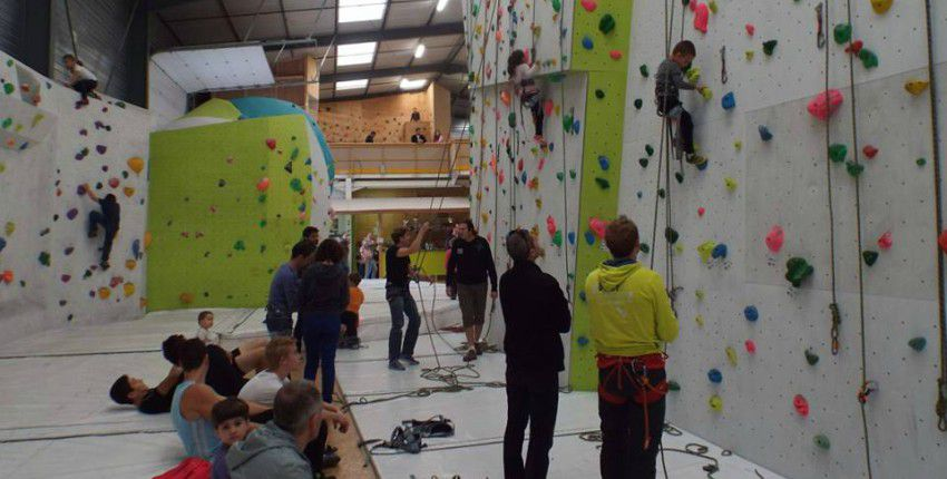 climb up Limoges stage escalade enfant