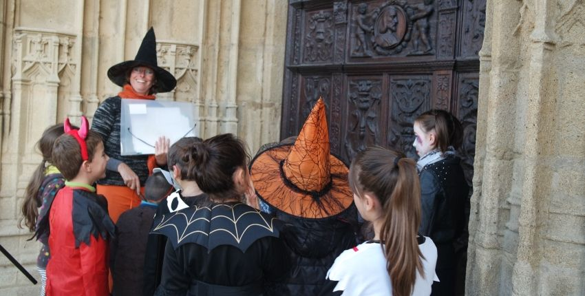 Animations Halloween en centre ville de Limoges